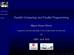 Parallel Computing and Parallel Programming - LIP Lisboa