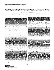 Parallel Dynamic Graph Partitioning for Adaptive ... - Semantic Scholar