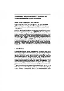Parametric Weighted Finite Automata and ... - CiteSeerX