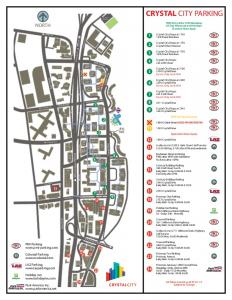 Parking Map - Crystal City