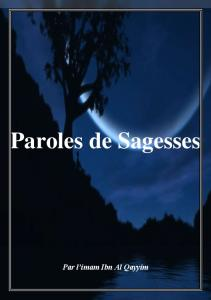 Paroles de Sagesses