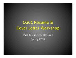resume building workshop presentation mafiadoc com
