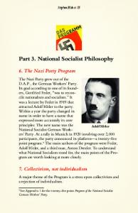 Part 3. National Socialist Philosophy - Stephen Hicks, Ph.D.