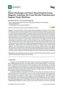 Partial Discharges and Noise Discrimination Using Magnetic ...www.researchgate.net › publication › fulltext › Partial-Dis