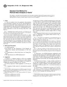 Particle-Size Analysis of Soils1