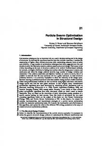 Particle Swarm Optimization in Structural Design