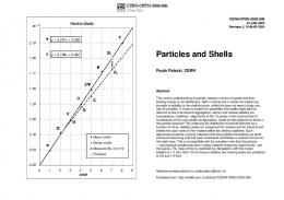 Particles and Shells
