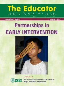 Partnerships in EARLY INTERVENTION - ICEVI