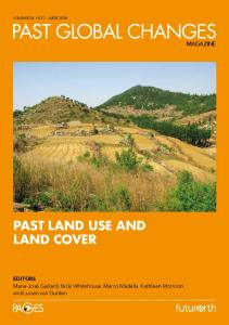 past land use and land cover - PAGES - Past Global Changes