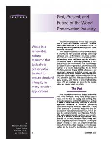 Past, Present, and Future of the Wood ... - Semantic Scholar