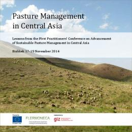 Pasture Management in Central Asia