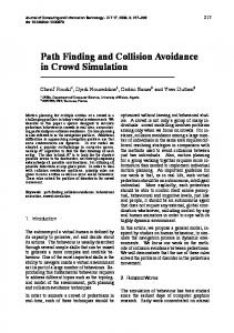 Path Finding and Collision Avoidance in Crowd ... - Semantic Scholar