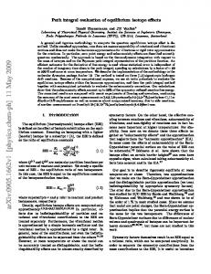 Path integral evaluation of equilibrium isotope effects