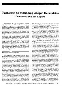Pathways to Managing Atopic Dermatitis