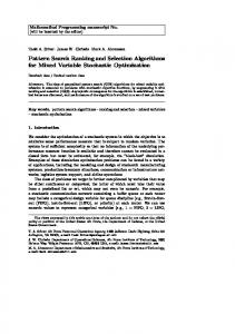 Pattern Search Ranking and Selection Algorithms