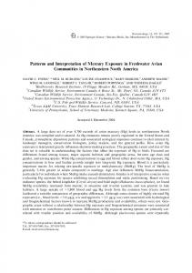 Patterns and Interpretation of Mercury Exposure in ... - Springer Link