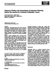 Patterns of Failure and Determinants of Outcomes ... - Springer Link