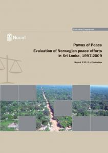 Pawns of Peace Evaluation of Norwegian peace ... - Bart Klem Research