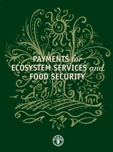 Payments for Ecosystem Services and Food Security