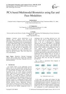 PCA based Multimodal Biometrics using Ear and ...