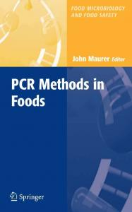 pcr methods in foods - Springer Link
