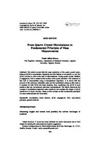 PDF-266kb - QCM lab