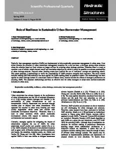 PDF (316 K) - Journal of Hydraulic Structures