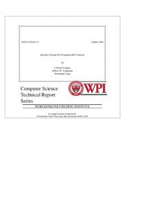 PDF 3.5MB - Computer Science - Worcester Polytechnic Institute