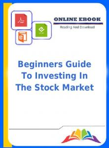 Pdf Book Beginners Guide To Investing In The Stock Market ...
