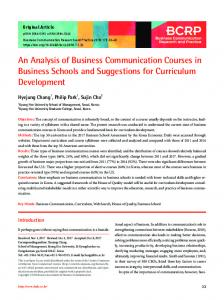 PDF Download - Business Communication Research and Practice