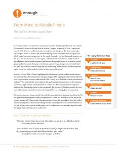 [PDF] From Mine to Mobile Phone