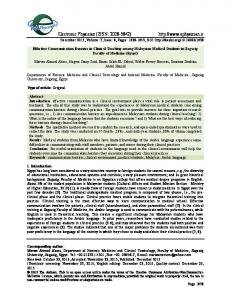 PDF Fulltext - Electronic Physician