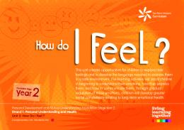 (PDF) Living.Learning.Together: Year 2, Unit 2: How Do I Feel?