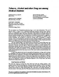 PDF (Tobacco, alcohol and other drug use among medical students)