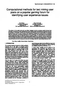 PDF Version of this Paper - eWiC