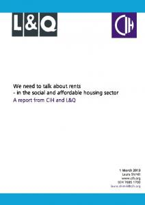 PDF: We need to talk about rents