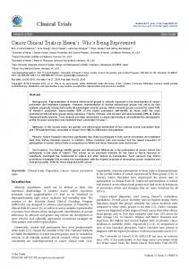Peer-reviewed Article PDF - Open Access Journals