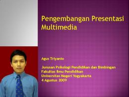 Pengembangan Presentasi Multimedia - Staff UNY - Universitas ...