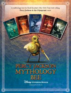 Percy Jackson Mythology Bee [PDF] - Percy Jackson and the ...