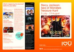 Percy Jackson: Sea of Monsters Treasure Hunt - Amazon Web ...
