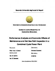 Performance Analysis and Economic Effects of Maintenance and Hot ...