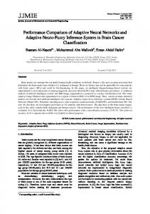 Performance Comparison of Adaptive Neural Networks and Adaptive ...