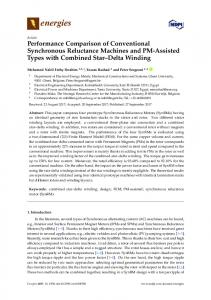 Performance Comparison of Conventional Synchronous ... - MDPI