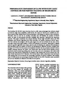performance comparison of ga-pid with fuzzy logic ...