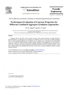Performance-Evaluation of Concrete Properties for Different ...