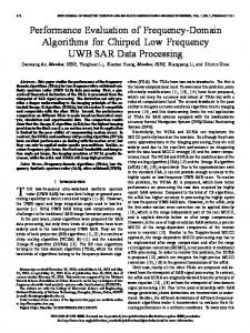 Performance Evaluation of Frequency-Domain ... - IEEE Xplore