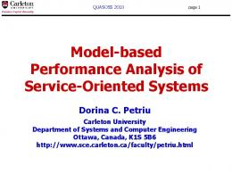 Performance Modeling Formalisms - Semantic Scholar
