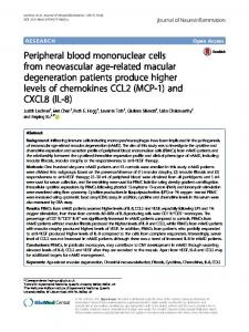 Peripheral blood mononuclear cells from neovascular ... - CyberLeninka
