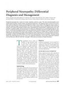 Peripheral Neuropathy: Differential Diagnosis and ... - Semantic Scholar