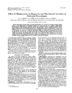 Peritoneal Macrophages - Infection and Immunity - American Society ...